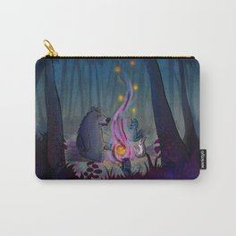 meeting in the woods  Carry-All Pouch