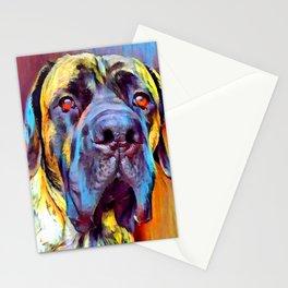 English Mastiff 2 Stationery Cards