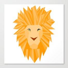 Golden Lion Brave Canvas Print