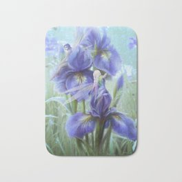 Imagine - Fantasy iris fairies Bath Mat