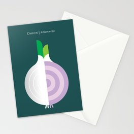 Vegetable: Onion Stationery Cards