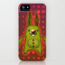 Bunny rag doll  iPhone Case