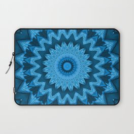 Kaleidoscope Blue afar world Laptop Sleeve