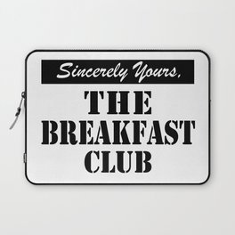 THE BREAKFAST CLUB SINCERELY YOURS Laptop Sleeve