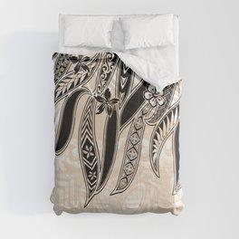 Hawaiian Tribal Leaves Comforters