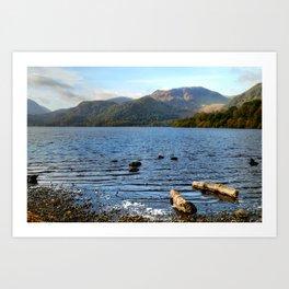 Autumn Ullswater Art Print