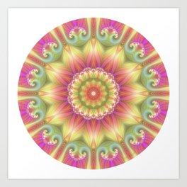 Beauty Mandala 03 Art Print