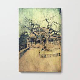 Wicked vintage town Metal Print