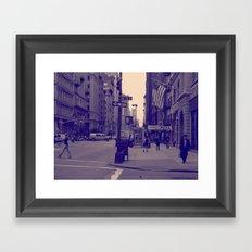 New York 20 W St  Framed Art Print