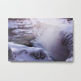 Magic waterfall Metal Print