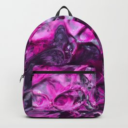 Purple Abstraction Backpack