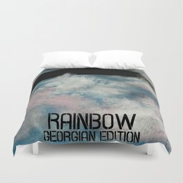 Georgian rainbow Duvet Cover