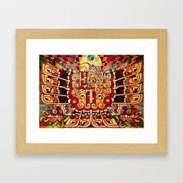 Chavin Eagle Framed Art Print