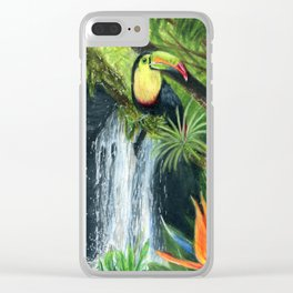 Rainforest Clear iPhone Case