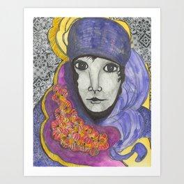 Tuareg Spirit One Art Print