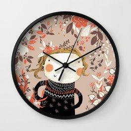 Here I am Wall Clock