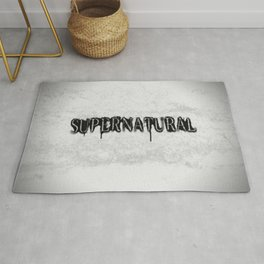 Supernatural monochrome Rug