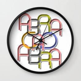 Abracadabra - Let´s do some Magic Wall Clock