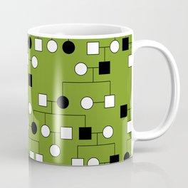 Pedigree Analysis - Autosomal Dominant Coffee Mug