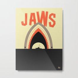 Jaws Metal Print