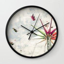 Sky Flyer Wall Clock