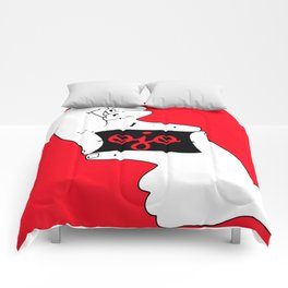 Ojo-square Comforters
