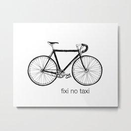 fixi no taxi Metal Print