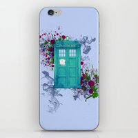doctor who iPhone & iPod Skins featuring Doctor Who by Laain Studios