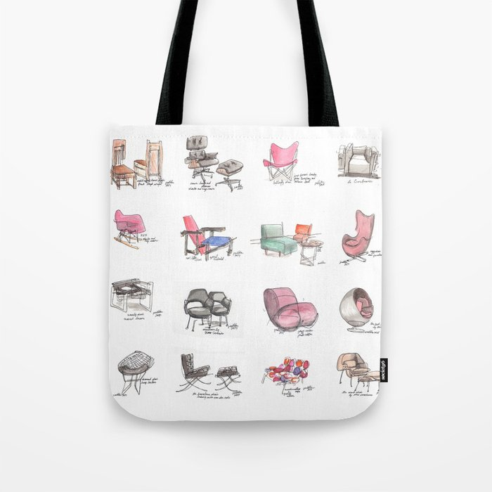 Classic Chair Designs Tote Bag