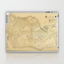 Map Of Key West 1906 Laptop & iPad Skin