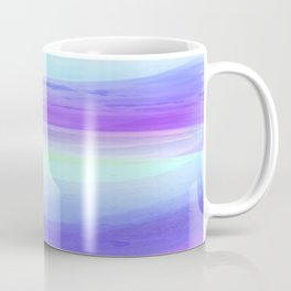 Seascape in Shades of Green Purple and Blue Coffee Mug