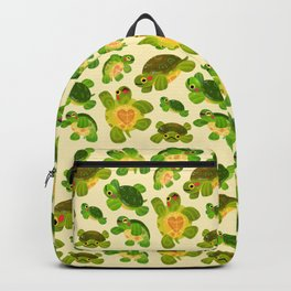 Red-eared slider Backpack