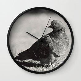 Posing Wall Clock
