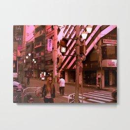 Shibuya Metal Print