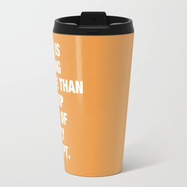 There is nothing worse than a sharp image of a fuzzy concept. Travel Mug