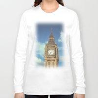 ben giles Long Sleeve T-shirts featuring Big Ben by MarioGuti
