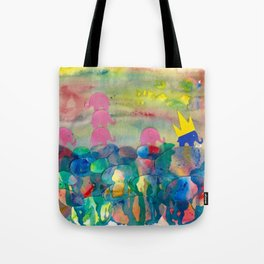 6 Penny the Pink Elephant Tote Bag