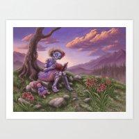 fancy Art Prints featuring Fancy by Benjamin Clair