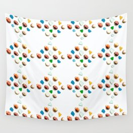 Sea Glass and Sea Shells Wall Tapestry