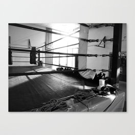 In the ring Canvas Print