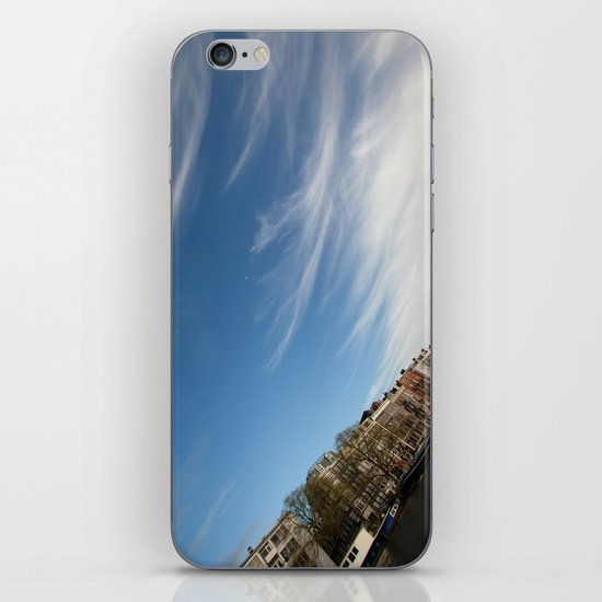 Feathery Clouds iPhone & iPod Skin