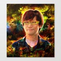 Hideo Kojima Canvas Print