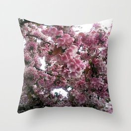 Bloomin' Bliss Throw Pillow