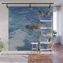 Above the Surf Wall Mural