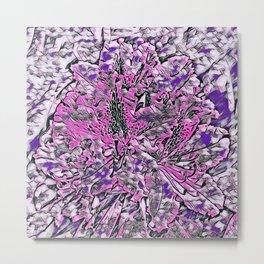 Impression floral 12196 Metal Print