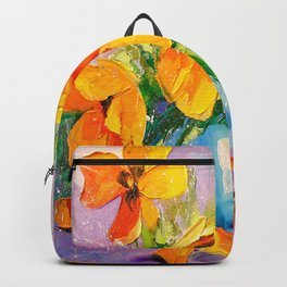 Bouquet of tulips Backpack