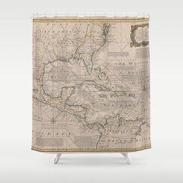 West Indies 1720 Shower Curtain