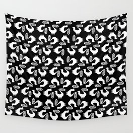 Snooty pattern Wall Tapestry