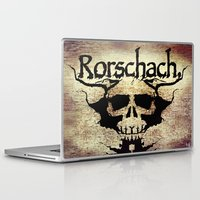rorschach Laptop & iPad Skins featuring Rorschach by Dominic Mastracchio