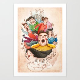 Postcards from Spain: Los Niños Espanoles Art Print